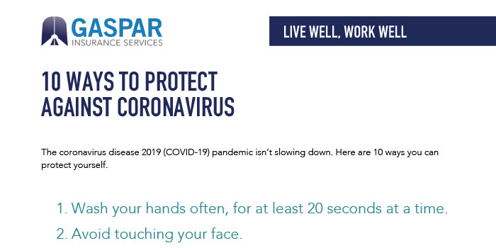 10 Ways to Protect Yourself Against Coronavirus