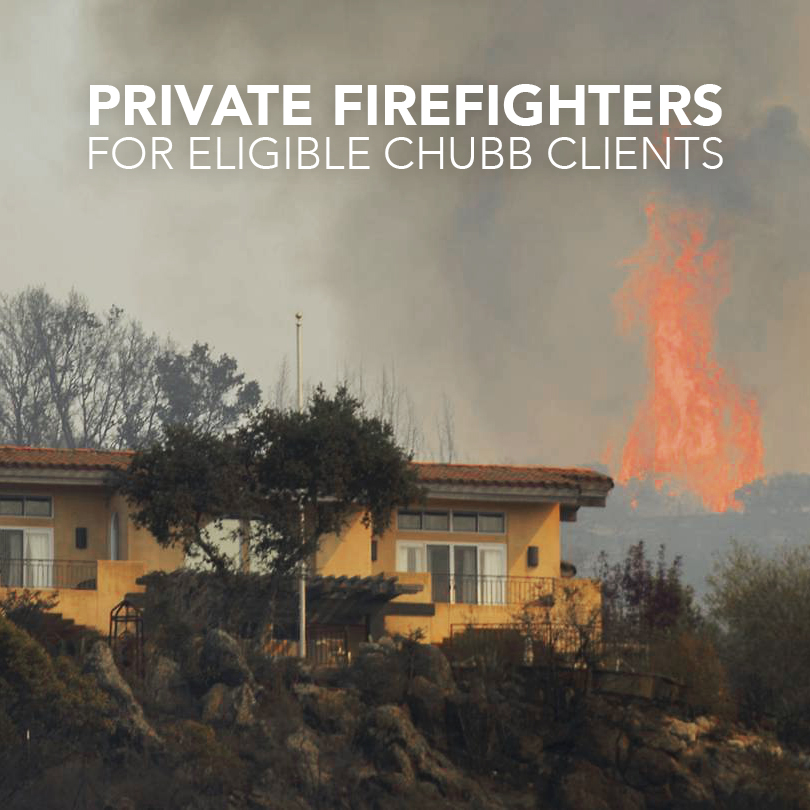 As Wildfires Raged, Insurers Sent in Private Firefighters to Protect their Client's Homes