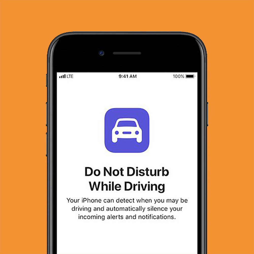 iphone do no disturb while driving