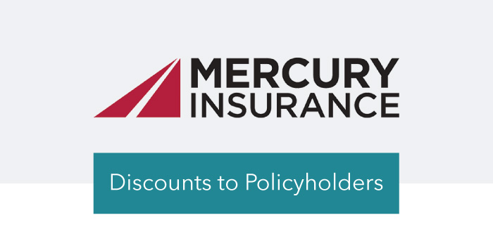 Mercury Insurance Discounts to Policy Holders